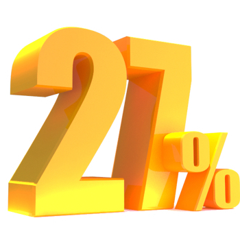 image of 27%